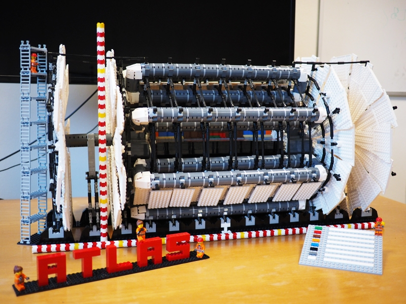 ATLAS lego detector